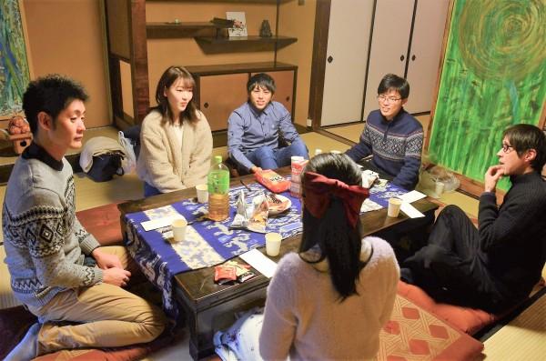京都の京町家でひたじこ会をしました!